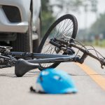 Bike after being hit by a truck will need legal personal injury representation