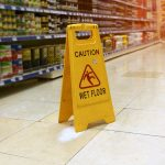Legal issues with slips and falls