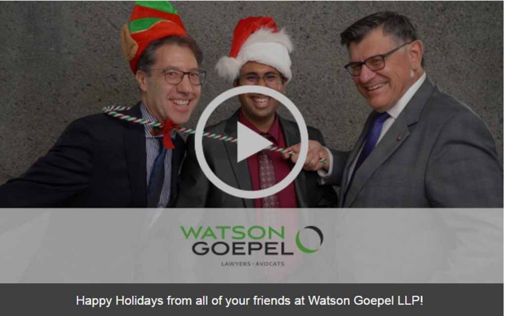 Watson Goepel Christmas picture for winter social