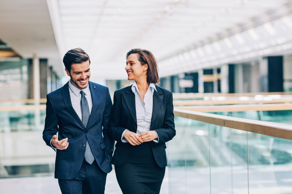 Employees taking risks in an office romance